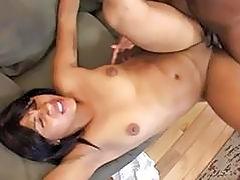 Ebony Girl Fucked Hard and Deep!