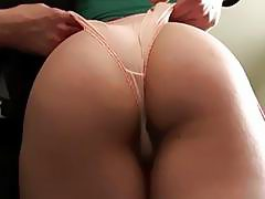 Squirting UK slut pussy slammed by maledom
