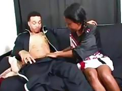 Sophomore cheerleader almost got pregnant, pulled out at the last minute.