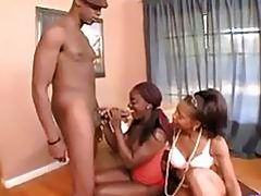 Mommy and Daughter Banged a Black Man